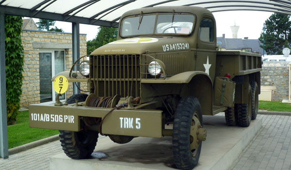 US World War II Truck at the Airborne Museum, France (Godfrey Hall)