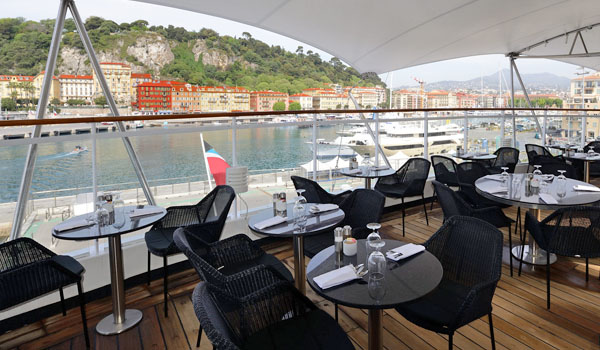 Candles, an Outdoor Dining Options (Windstar Cruises)