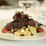 Dinner at AmphorA Restaurant (Windstar Cruises)