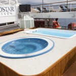 Counter Current Pool, Whirlpool & Jacuzzi at the Bow (Windstar Cruises)