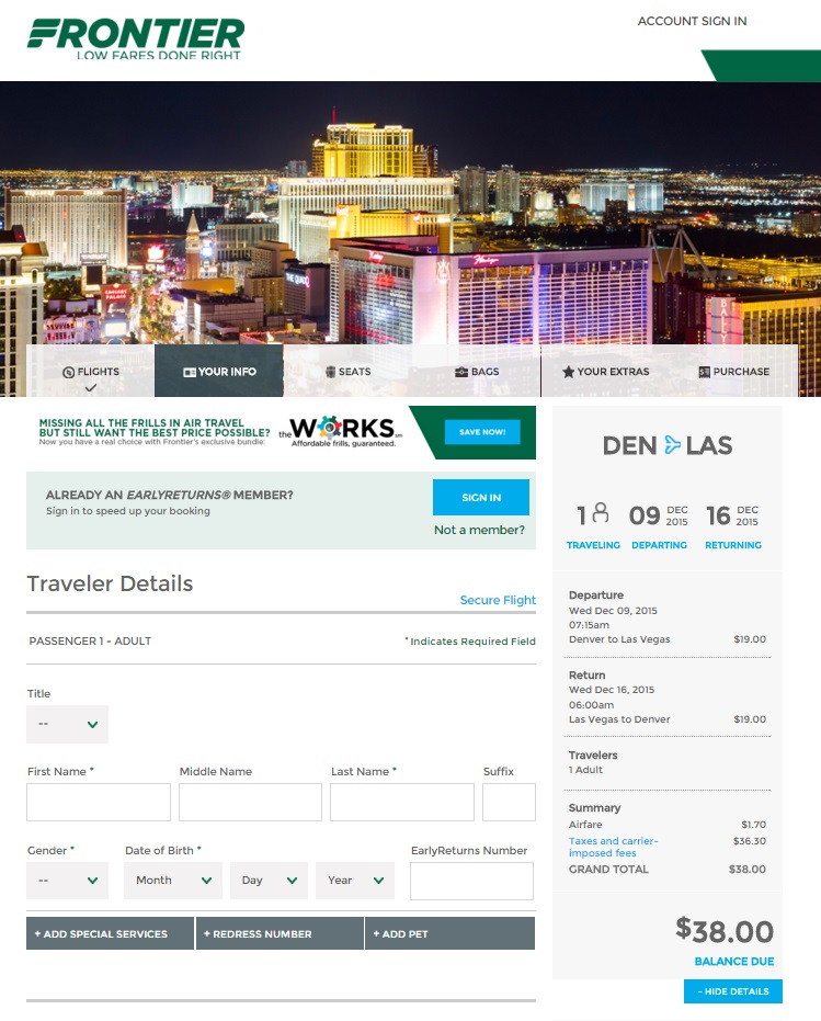 Frontier airlines coupon code