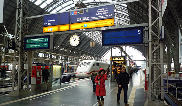 Frankfurt Main Station (Godfrey Hall)