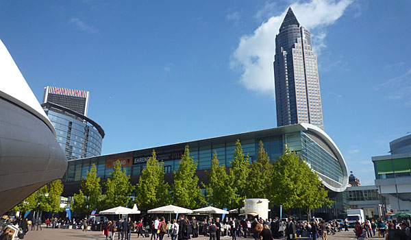 Frankfurt Messe, Home of the Annual Book Fair (Godfrey Hall)