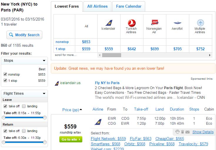 568 New York City To Paris R T Fly Com Travel Blog