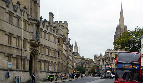 High Street, Oxford (Godfrey Hall)