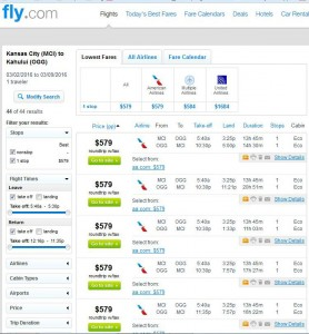 Kansas City-Kahului, Maui: Fly.com Search Results