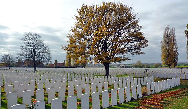 Tyne Cot Cemetery (Godfrey Hall)