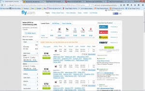 Dallas-Johannesburg: Fly.com Search Results