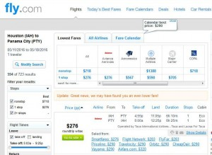 Houston-Panama City: Fly.com Search Results
