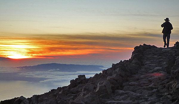 Sunset over Mount Teide (Godfrey Hall)