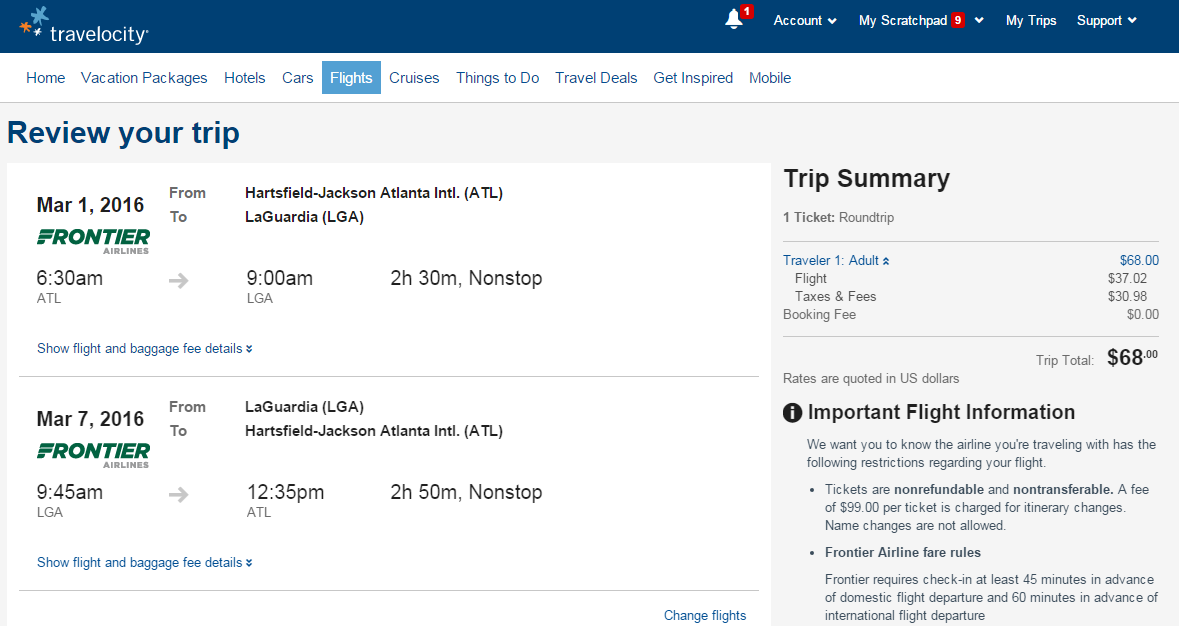 Last Minute Travel Deals On Travelocity