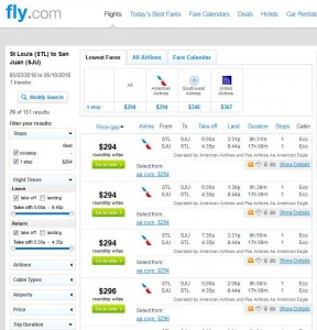 Cleveland-Cancun: Fly.com Search Results