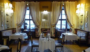 Dining Room at Hotel Wentzl