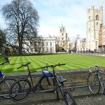 Bicycles in Cambridge, a Popular Mode of Transportation (Godfrey Hall)