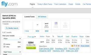 Detroit-Aguadilla, Puerto Rico: Fly.com Search Results