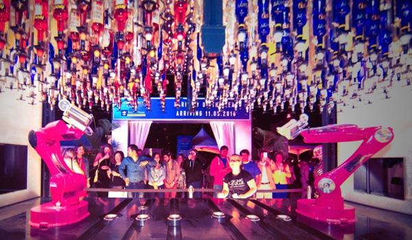 Royal Caribbean's Bionic Bar, powered by Makr Shakr (Royal Caribbean Cruises)