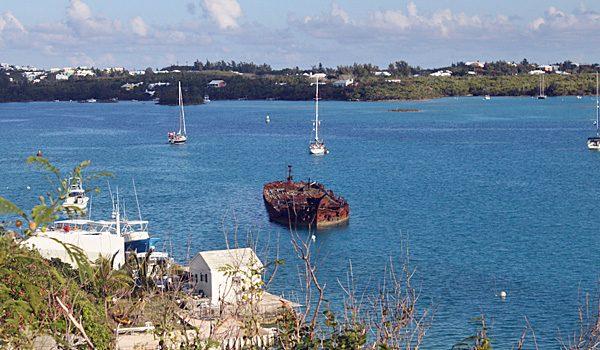 Shipwreck Near St George (Sasha Arms)