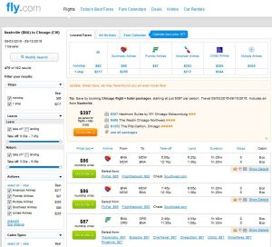 BNA-CHI: Fly.com Search Results ($87)