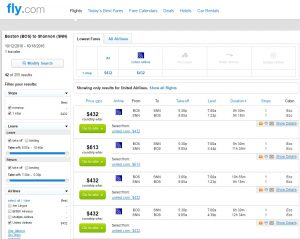 Boston to Shannon: Fly.com Results