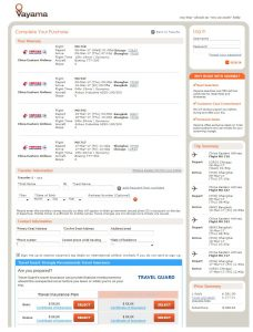 CHI-BKK: Vayama Booking Page ($569)