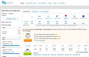 ATL-LAS: Fly.com Search Results ($99)
