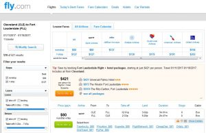 CHI-FLL: Fly.com Search Results ($80)