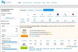 CHI-FLL: Fly.com Search Results ($90)