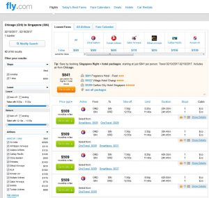 CHI-SIN: Fly.com Search Results