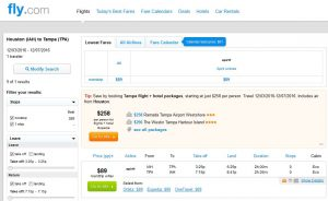 IAH-TPA: Fly.com Search Results ($89)