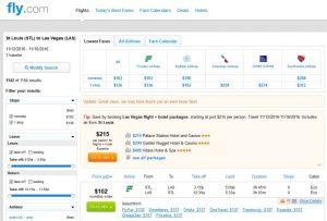 STL-LAS Fly.com Search Results