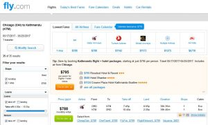 CHI-KTM: Fly.com Search Results