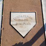 Original Comiskey Park Home Plate (Matthew DeJong)