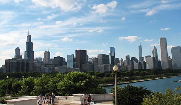 Chicago Skyline from Museum Campus (Matthew DeJong)