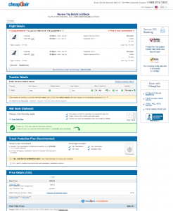 Seattle to Iceland: CheapOAir Page