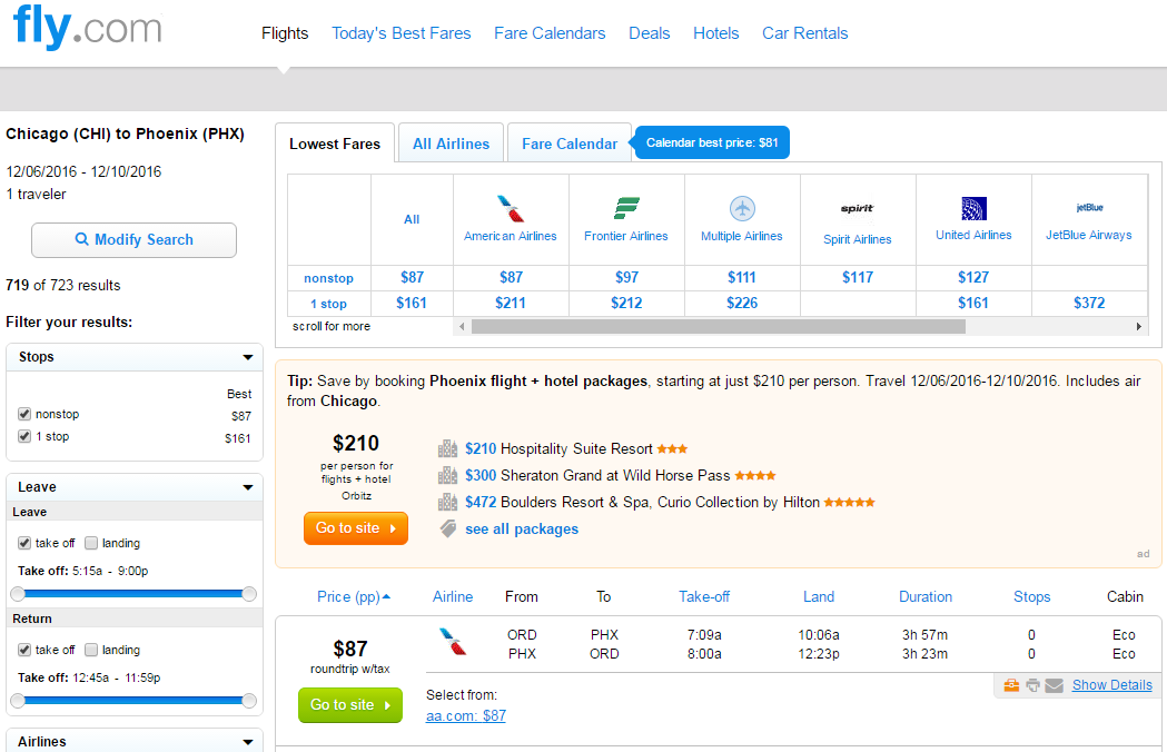 Flights and Cheap Airline Tickets Want discount airline tickets? We'll send you free alerts. Whether you're looking for cheap airfare for a next year's big vacation or just cheap flights for a weekend getaway, we'll find you plenty of cheap airfare and flights to choose from.