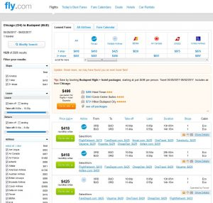 CHI-BUD: Fly.com Search Results ($429)