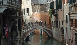 The Back Street Canals in Venice (Godfrey Hall)
