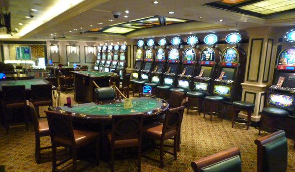 Casino on the Queen Victoria (Godfrey Hall)