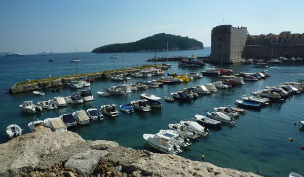 Dubrovnik Harbour (Godfrey Hall)