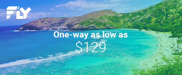 $129 & Up, One Way — Southwest Flight Sale; Ends 10/30