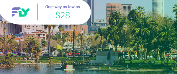 $28-$45, One Way – Fly's best domestic fares