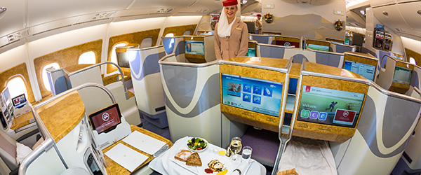Emirates In-Flight Meals