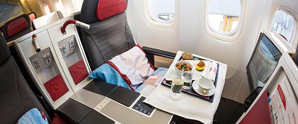 Austrian Airlines In-Flight Meals