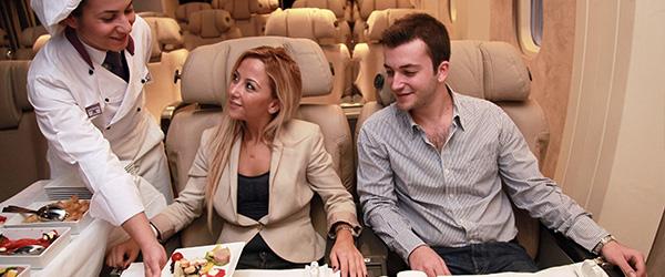 Turkish Airlines In-Flight Meals