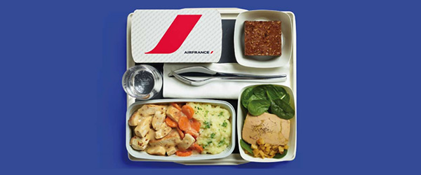 Air France In-Flight Meals