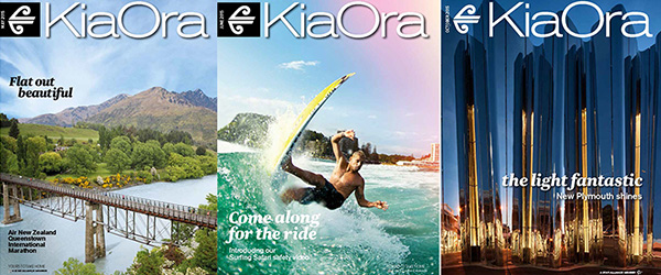 KiaOra, Air New Zealand