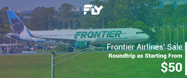 50 Dollar Frontier Airlines' Flight Sale
