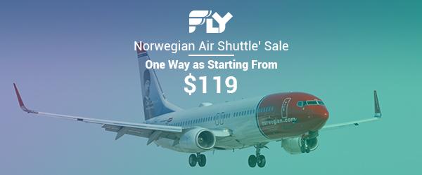 Norwegian Air Shuttle Airlines' Sale