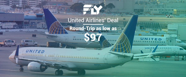 United Airlines' $97 Flight Deals