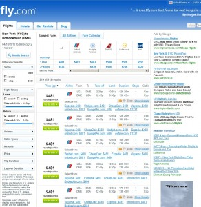 Fly.com Search Results - New York to Moscow